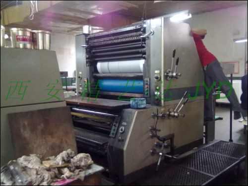 印刷机机滚筒高精度在机修复