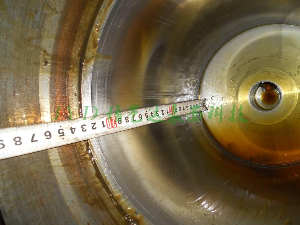液压缸缸体表面拉伤漏油现场维修